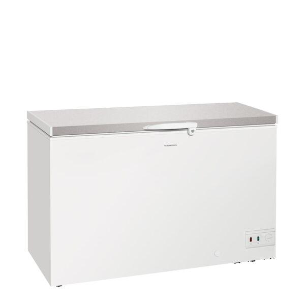 Kummefryser med stållåg, 368 liter