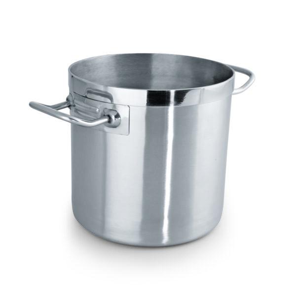 suppegryder i rustfri stål og 3-lags bund i robust og slidstærk kvalitet. Både til gas, induktion og masseplader.