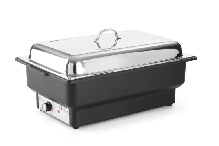 Elektrisk Chafing dish med stållåg - passer til 1/1 GN