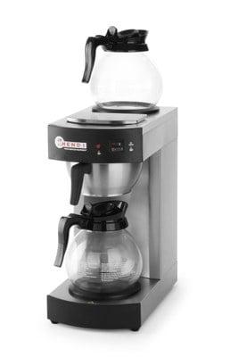 Kaffebrygger med 2 og 2 varmeplader kolber - hurtig og pålidelig maskine