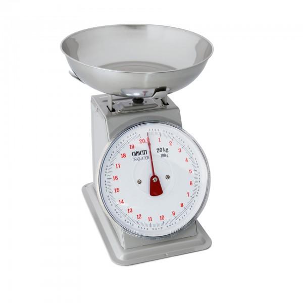 Vægt op til 20 kg, analog, op til 100 grams intervaller