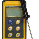 Digital termometer, stødsikkert med aftagelig føler - Temperaturområde -50 ° C til 300 ° C.