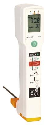 Termometer, Fluke Food Pro Plus - præcist og professionelt laser og sondetermometer - 2 i en