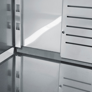 Bambas frost køleskab - afrundede hjørner