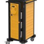 Transportvogn med varme 20 x 1/1 GN med temperatur 30-90 grader, er ideel for især cateringvirksomheder.