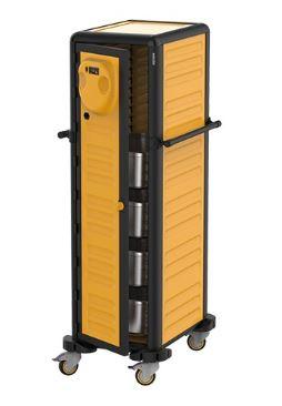 Transportvogn med varme 30 x 1/1 GN med temperatur 30-90 grader, er ideel for især cateringvirksomheder.