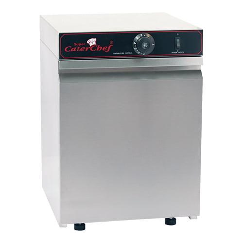 Varmeskab i rustfri stål - plads til 30 stk  Ø32 cm tallerkener