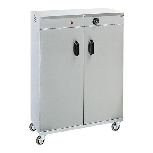 Varmeskab på hjul  - plads til 120 stk. Ø320  tallerkener