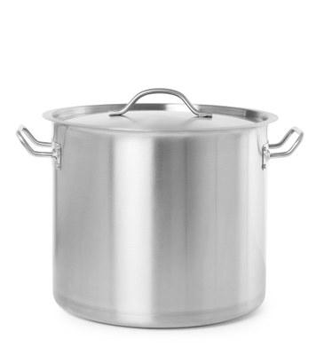 37  liters gryde med låg - Hendi budget line - til alle varmekilder
