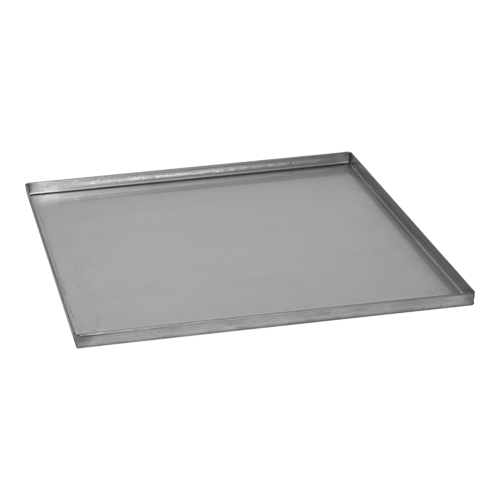 Spildbakke / drypbakke i rustfri stål til 500x500 mm opvaskebakker