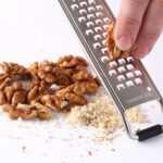 Groft aflangt rivejern - grater til f.eks. chokolade eller nødder
