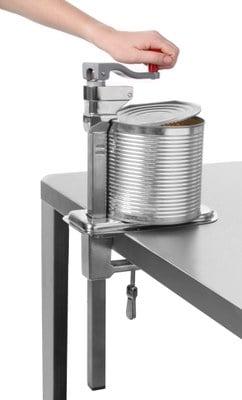 Dåseåbner til bordmontering