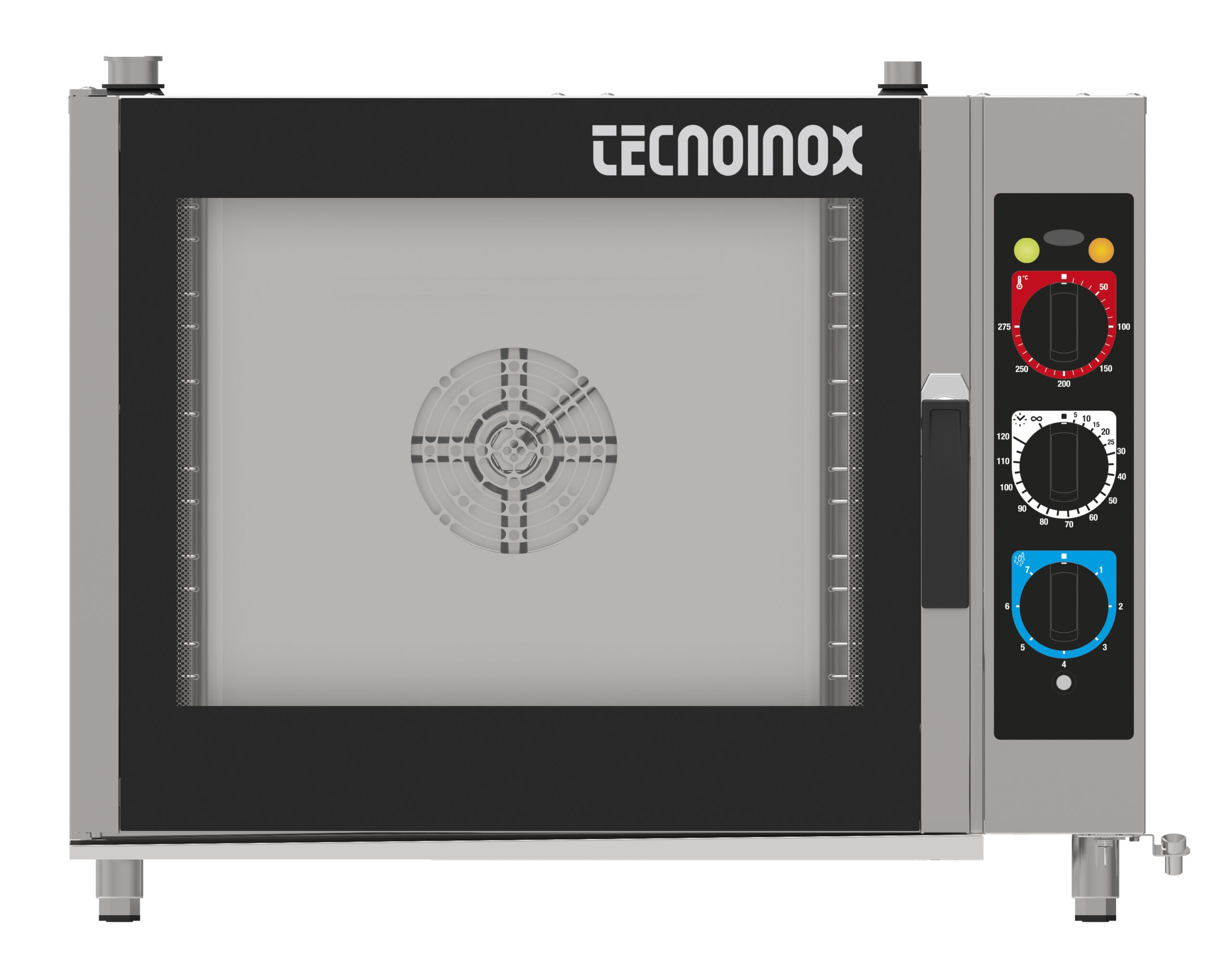 Industriovn 6 stik med damp , Tecnocombi manuel  - en kvalitetsovn fra italienske Tecnoinox