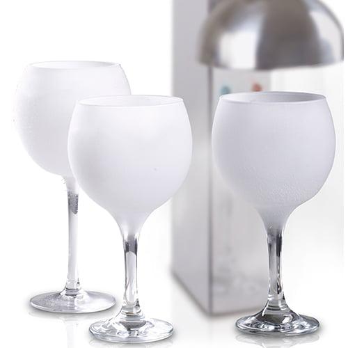 Glas froster hurtig nedkøling af glas - og så er det lidt tjekket