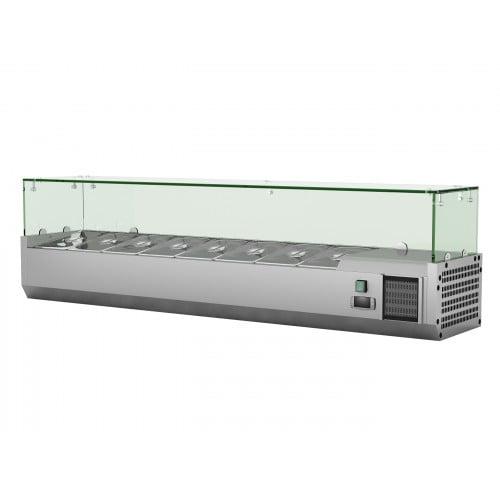 Køleopsats til 1/3 kantiner i flere længder - 120 til 200 cm