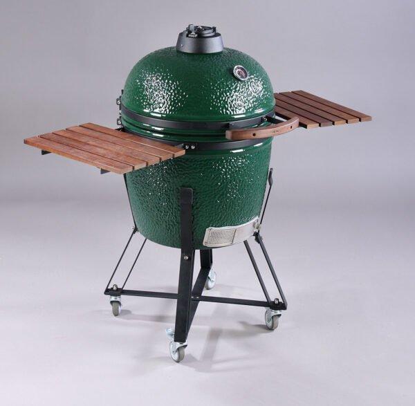 Kamado keramisk grill - sort understel