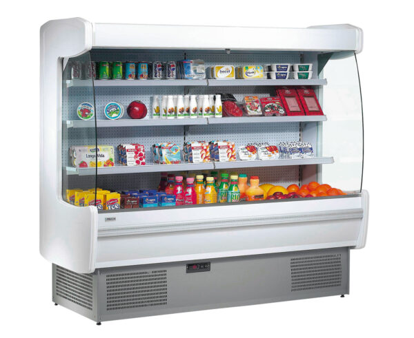 Kølereol i 3 størrelser i hvid