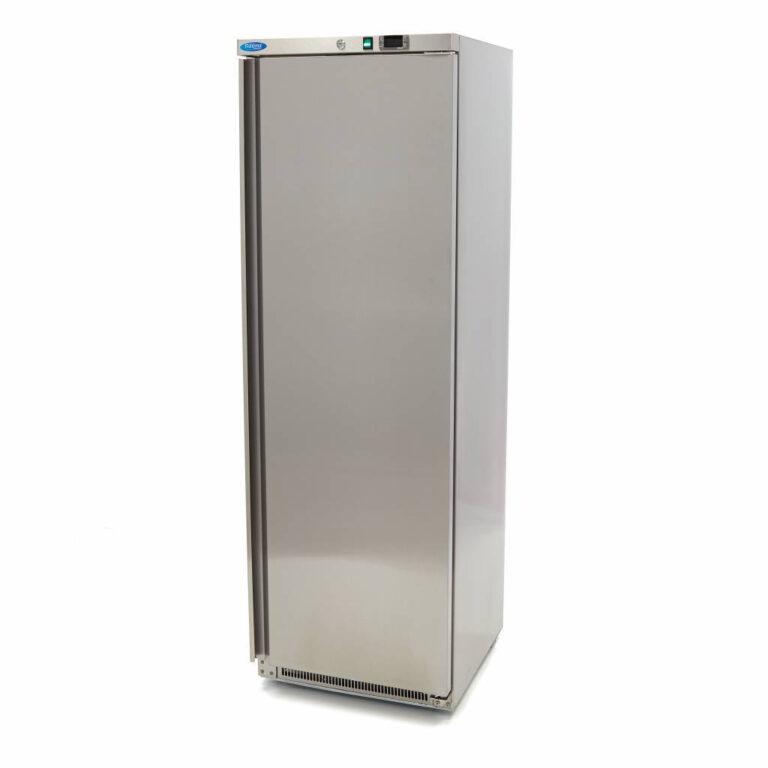 Lagerfryseskab, Maxima 400 liter i rustfri stål