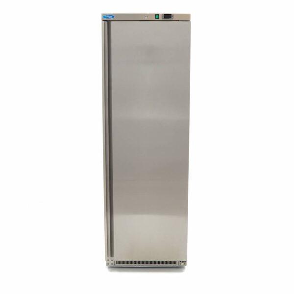 Lagerfryseskab, Maxima 400 liter i rustfri stål  - zanussi kompressor