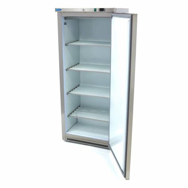 Lagerfryseskab, rustfri stål -600 liter, Maxima - hvis indeni