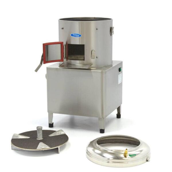 kartoffelskræller, 15 kg - Maxima - professional kartoffel- grøntsagsskræller - let at rengre