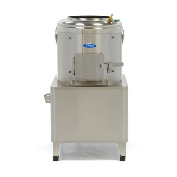 kartoffelskræller, 15 kg - Maxima - professional kartoffel- grøntsagsskræller - 300 kg / timen