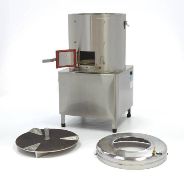 kartoffelskræller, 30 kg - Maxima - professional kartoffel- grøntsagsskræller - let at rengøre