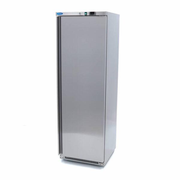Lagerkøleskab, Maxima 400 liter i rustfri stål  - zanussi kompressor