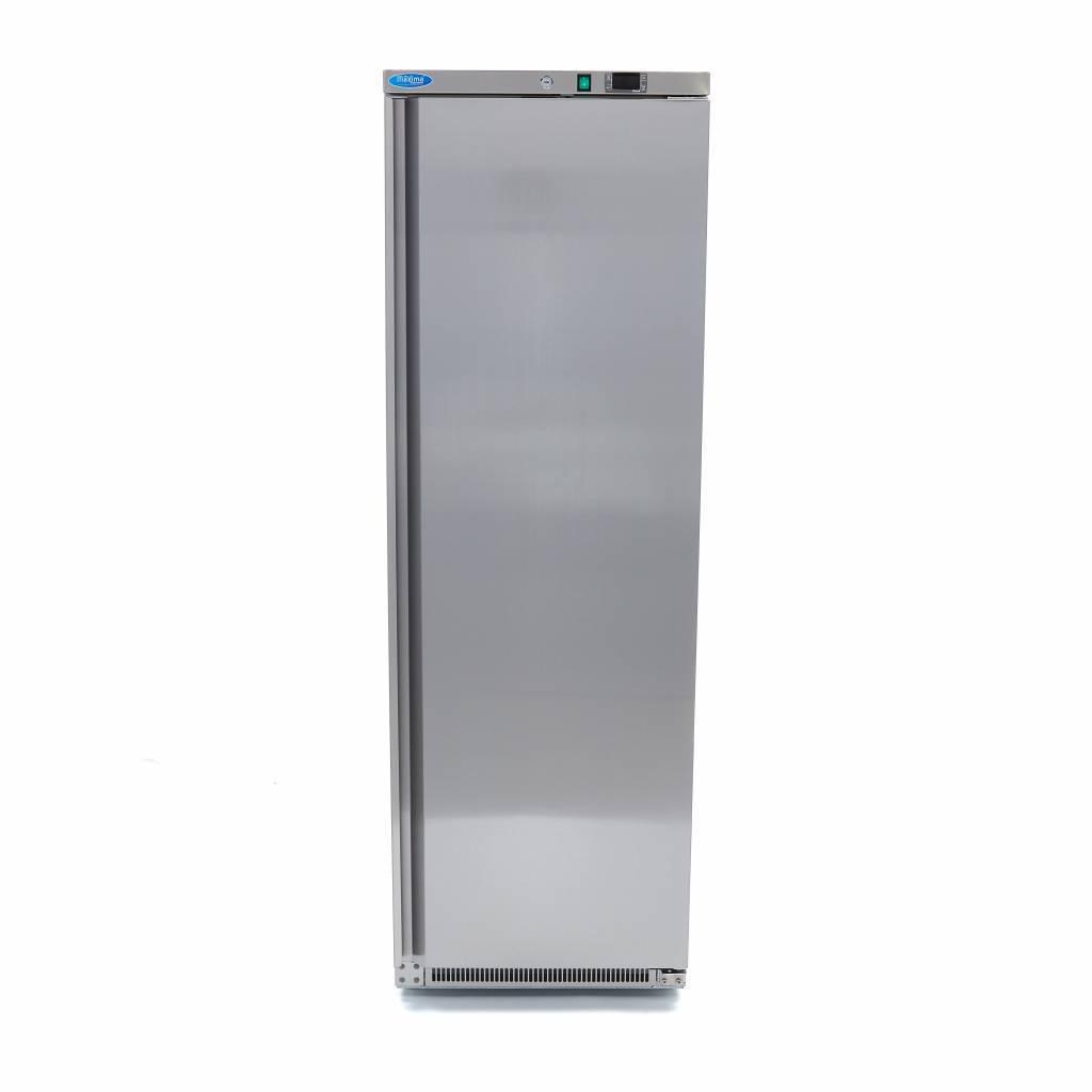 Lagerkøleskab, Maxima 400 liter i rustfri stål