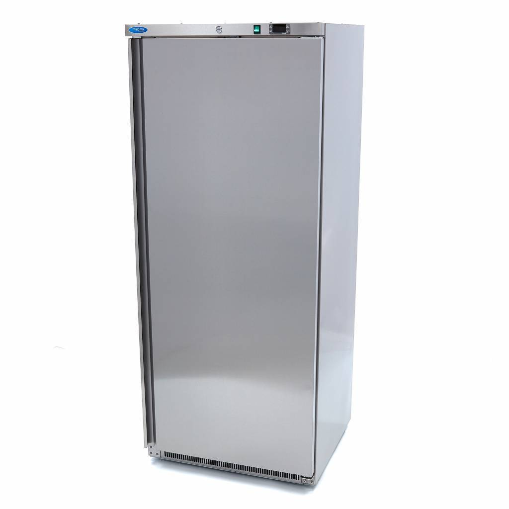 Lagerkøleskab, 600 liter i rustfri stål fra Maxima