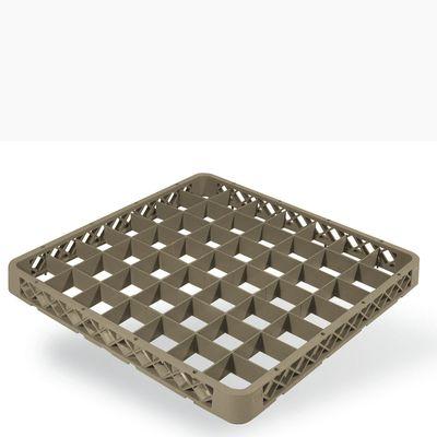 Opvaskebakke extender til f.eks. høje glas, 50 x 50 cm - Passer til de fleste glasstørrelser.