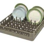 Opvaskebakke neutral 50 x 50 cm - til tallerkener