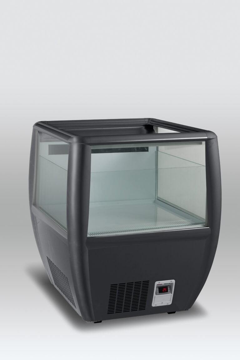 Prisbillig og præsentabel Impuls køler OTC 95B fra SCAN - Sort farve- perfekt til supermarkedet, kiosken eller eventet