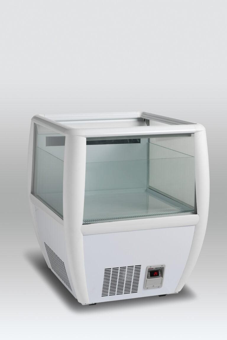 Prisbillig og præsentabel Impuls køler OTC 95W fra SCAN - Hvid farve- perfekt til supermarkedet, kiosken eller eventet