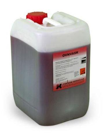 Effektiv ovnrens med rød farve til ovne med automatisk vaskesystem