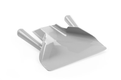 Pommes frites skovl - til højre- eller venstre hånds betjening