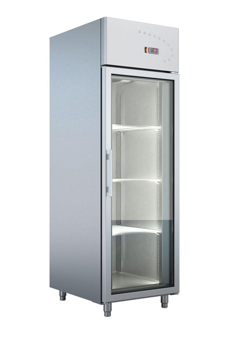 Industrikøleskab med glaslåge fra Bambas Frost