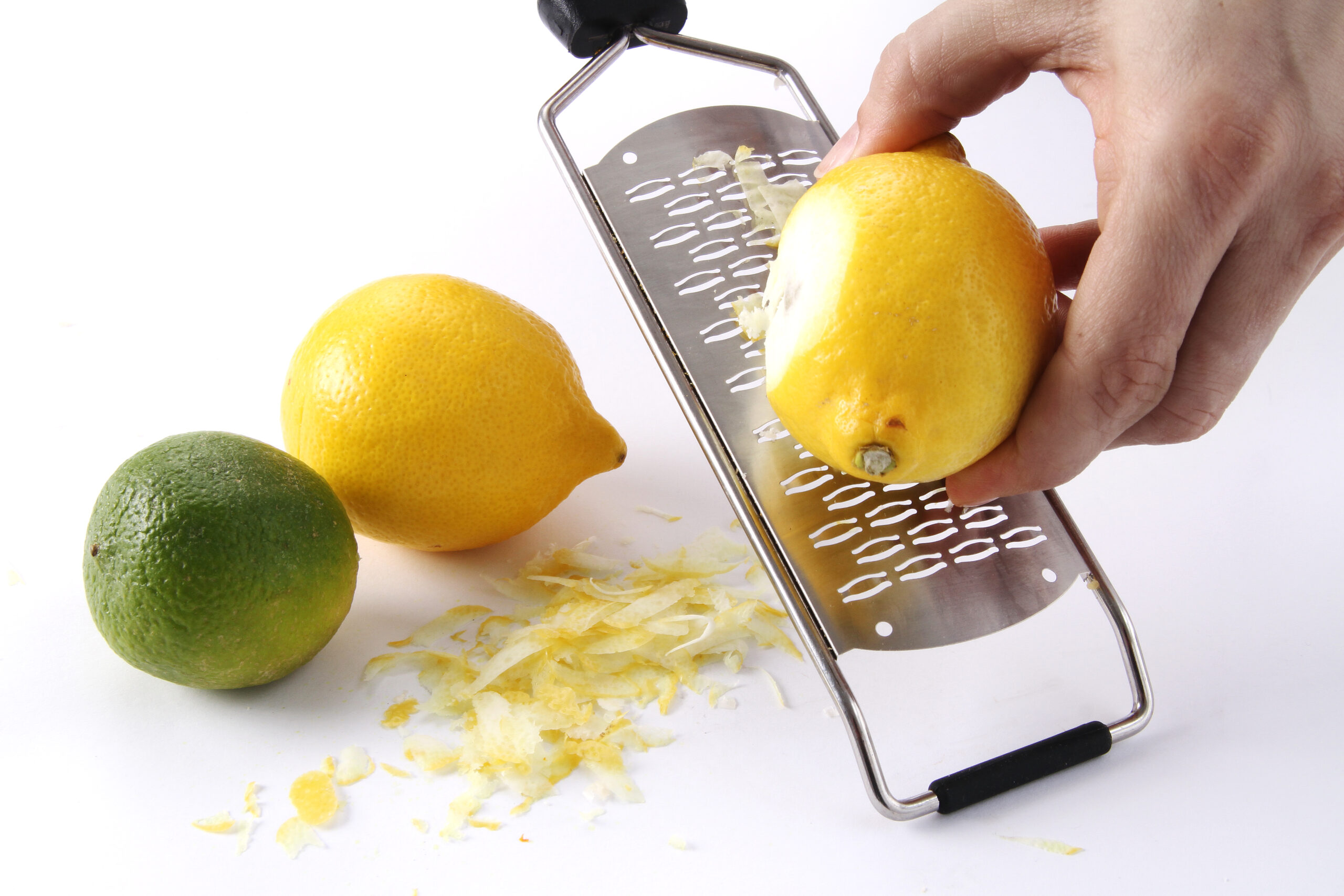 Medium ribbet rivejern - skarpt og præcist - til f.eks citronskal