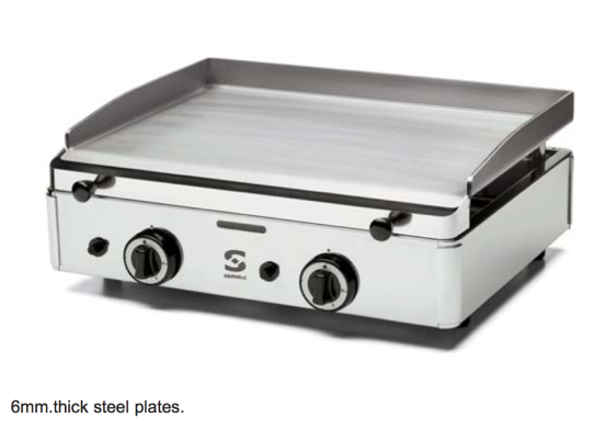 Sammic GAS stegeplader, i 3 forskelige størrelser, perfekt til madmarkeder og events