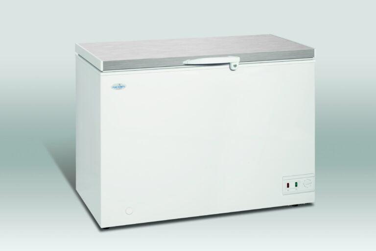 Opbevaringsfryser med stållåg, 283 liter fra Scan