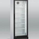 Flaskekøleskab 338 liter, med lys i topppen fra Scandomestic