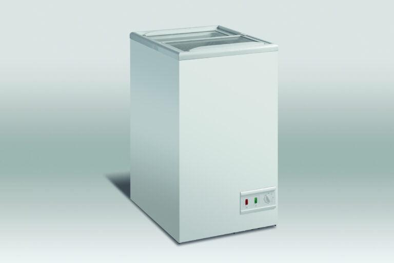 Displayfryser med skydelåg, 62 liter, SCAN