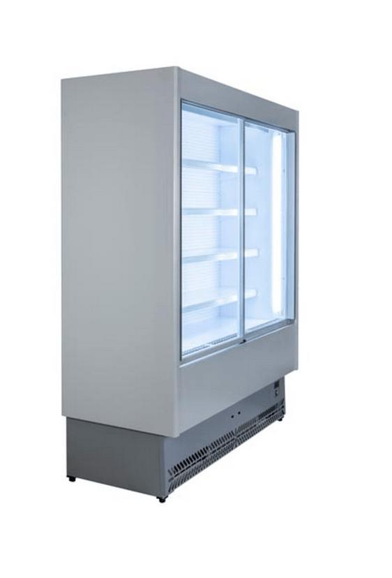 Tecnodom SPEED kølereol med skydelåger - i elegant design