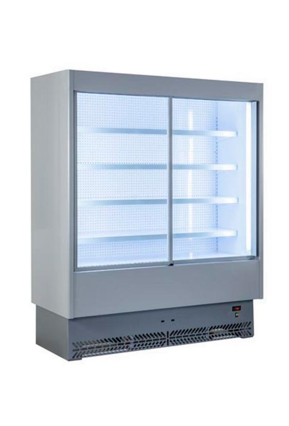 Tecnodom SPEED kølereol med skydelåger - enkelt design