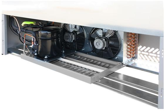 Tecnodom SPEED kølereol kompressor