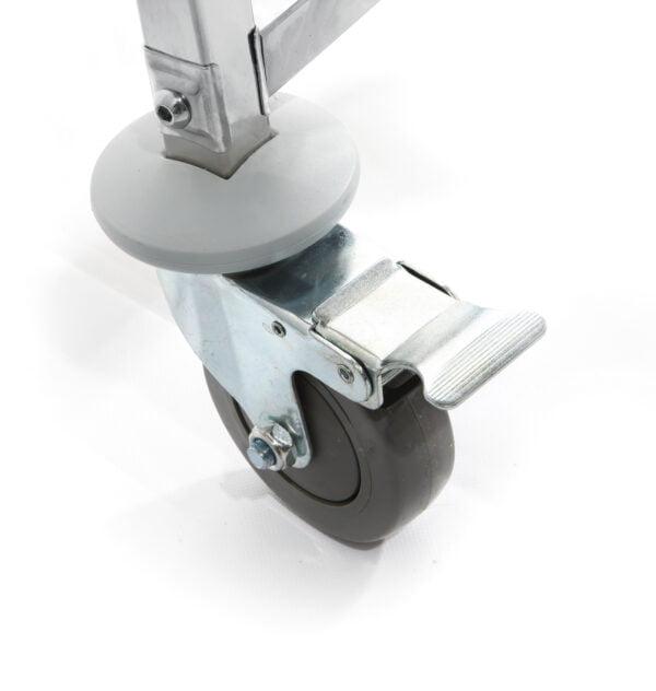 Hjul med bremse