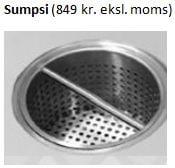 Sumpsi - valgfrit ekstra udstyr