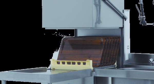 Hætteopvasker, T110 - E Project Systems - plads til bakker eller gastrobakker