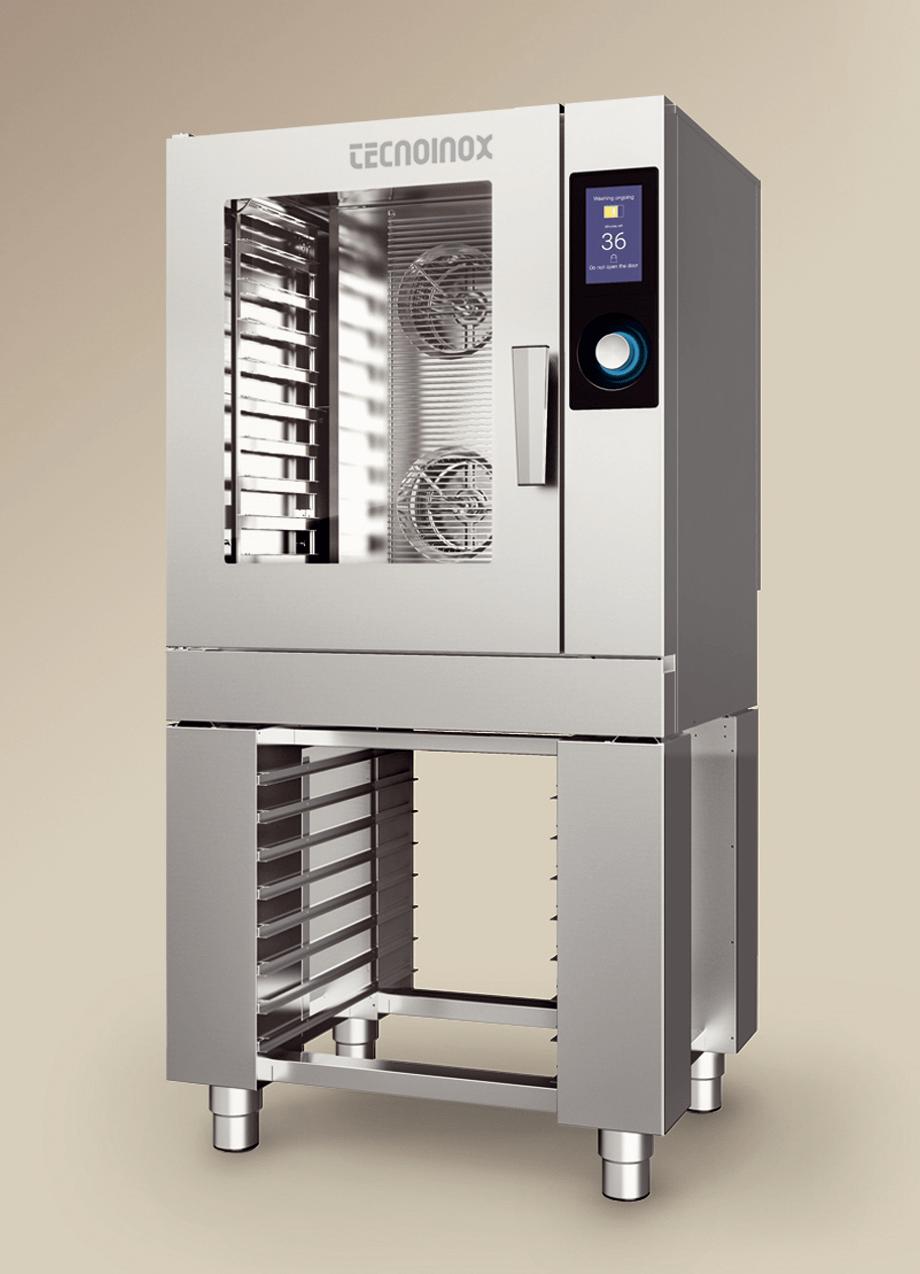TAP ovnen fra italienske Tecnoinox - elegant design