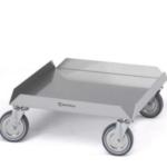 Vogn til opvaskebakker (50 x 50 cm)